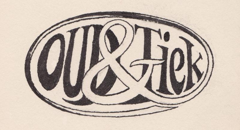 Handgetekend logo voor winkel 2e hands