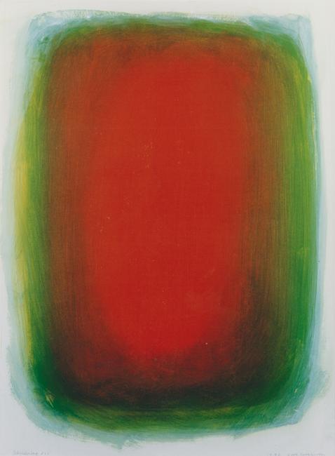 Kleurwerk VII, acryl op papier