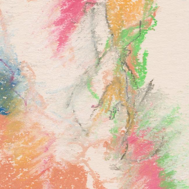 Naakt, pastel 2