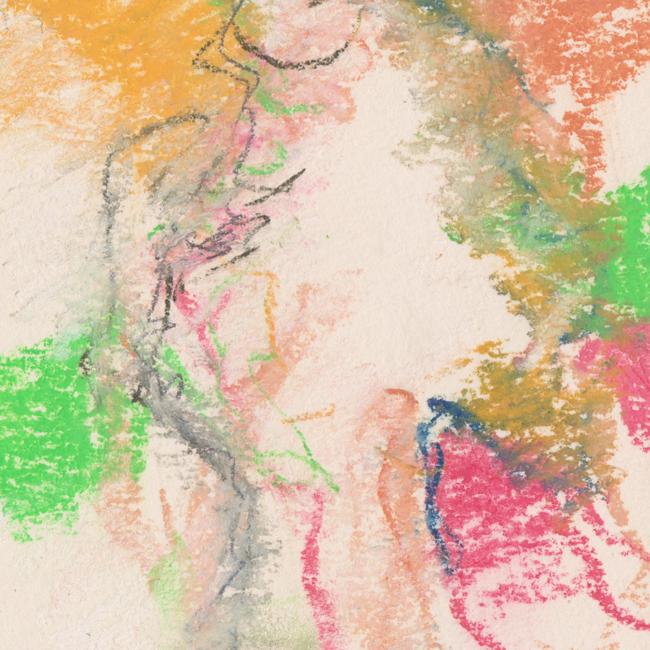 Naakt, pastel 3