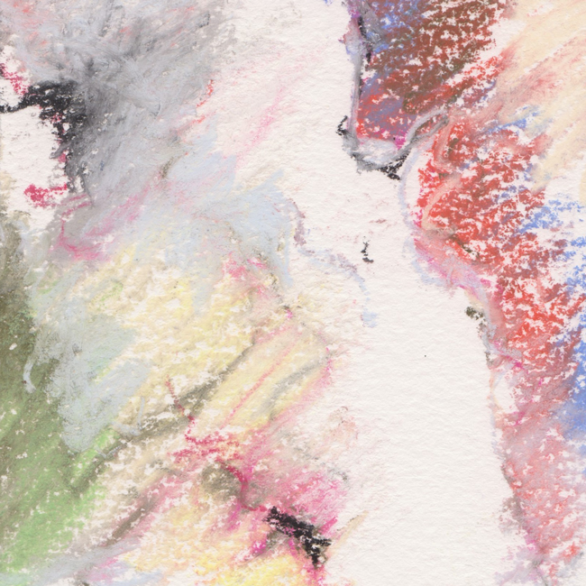 Naakt, pastel 6