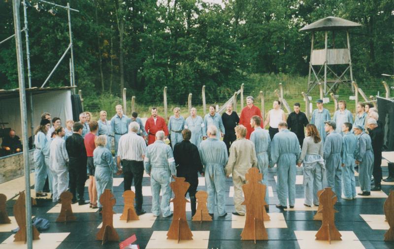 Buitenspel Opstand in Sobibor, het decor