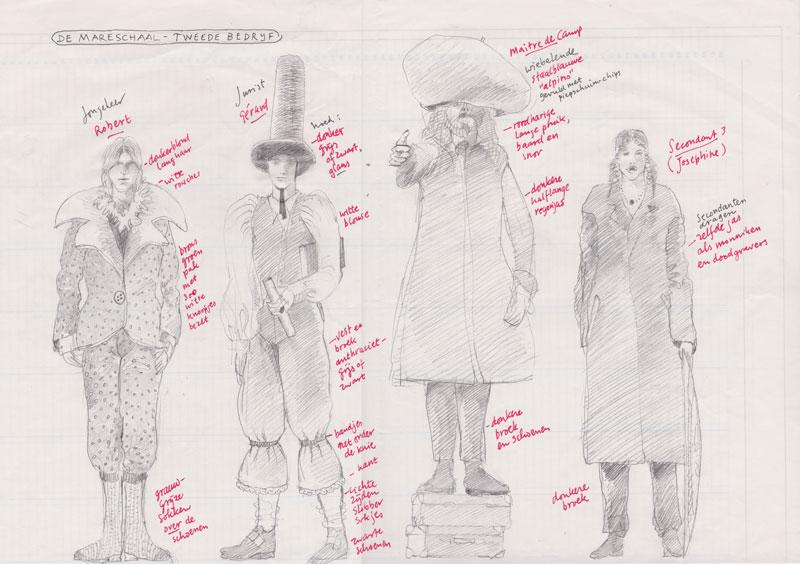 Kostuumontwerp voor amateurtoneel, Oosterbeek